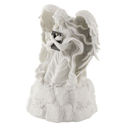 Abel Funeral Urn Angel Alabaster Large