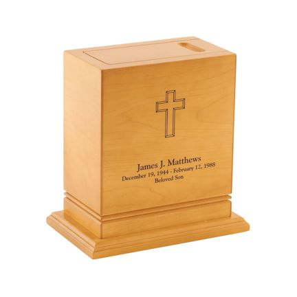 Abel Funeral Urn Archer Maple