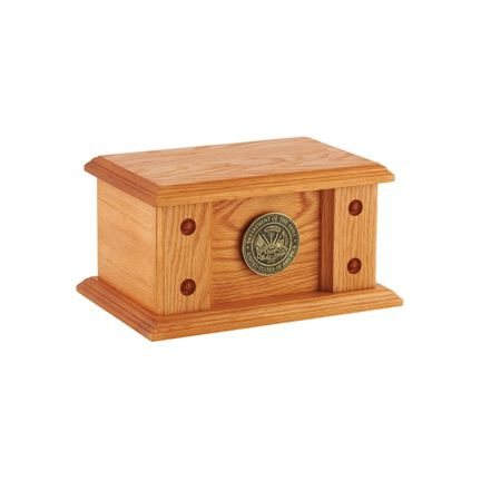 Abel Funeral Urn Norwood Oak