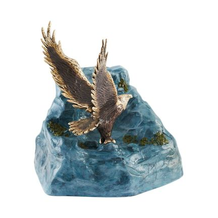 Abel Funeral Urn On Eagles Wings Large