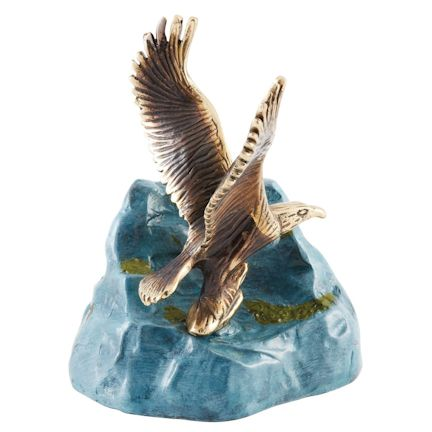 Abel Funeral Urn On Eagles Wings Medium